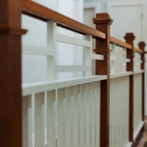 Woodland Hills - Stairwell detail