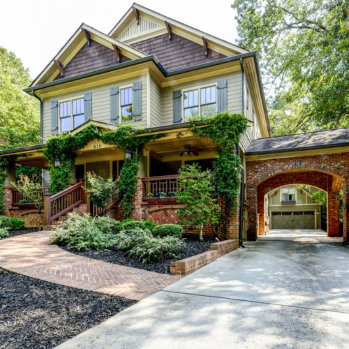 Peachtree Park - Front View