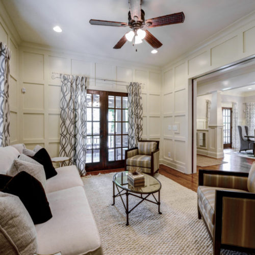 Peachtree Park - Formal Living Room