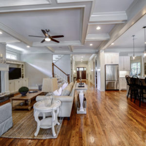 Peachtree Park - Family Room & Kitchen