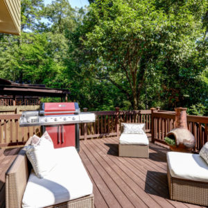 Peachtree Park - Back Deck